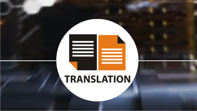 Our translation offer